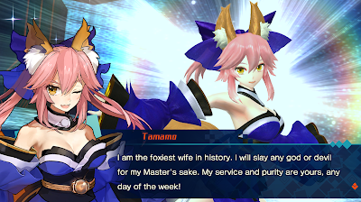 Fate extella tamamo