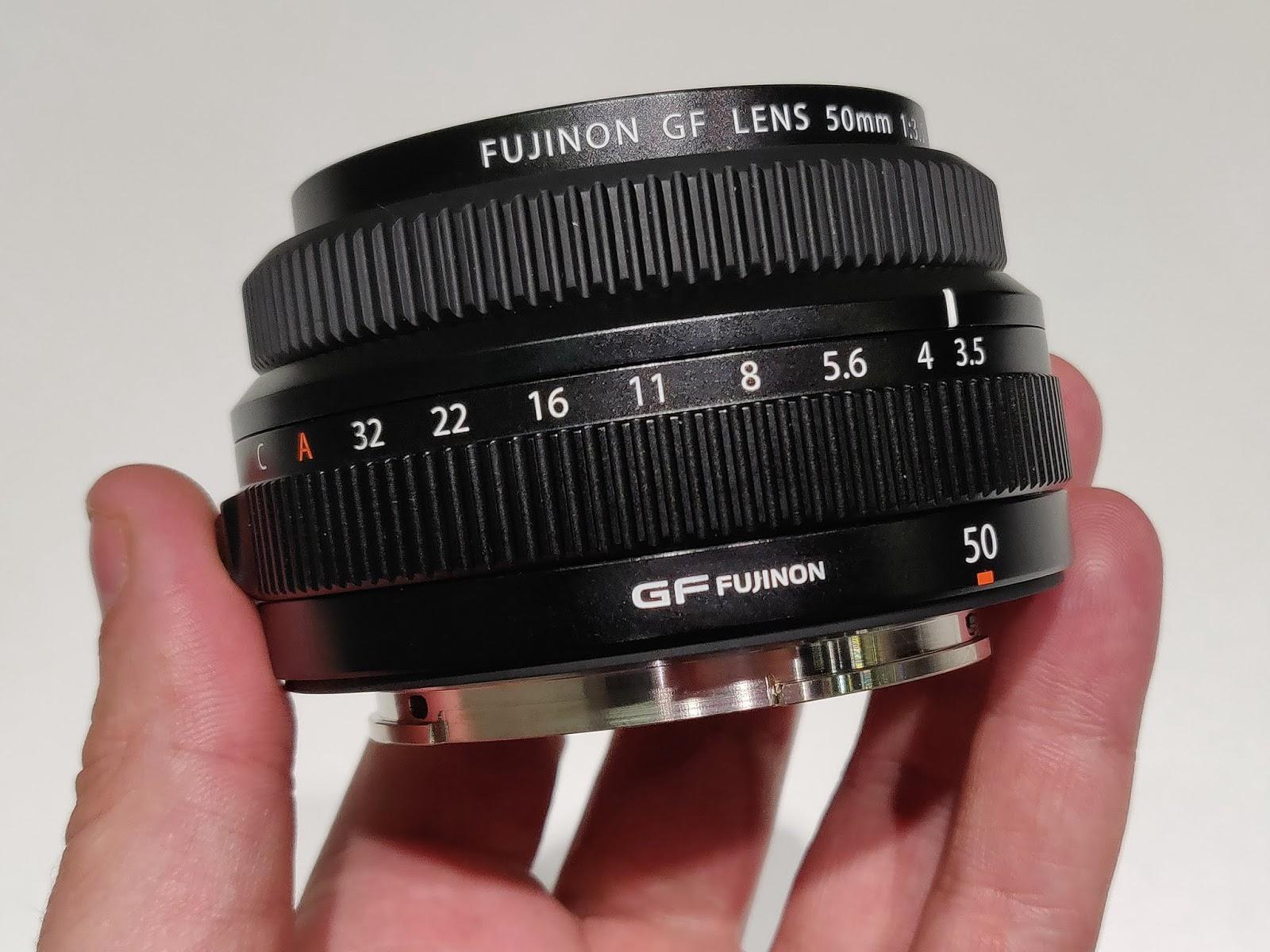 Объектив GF 50mm f/3.5