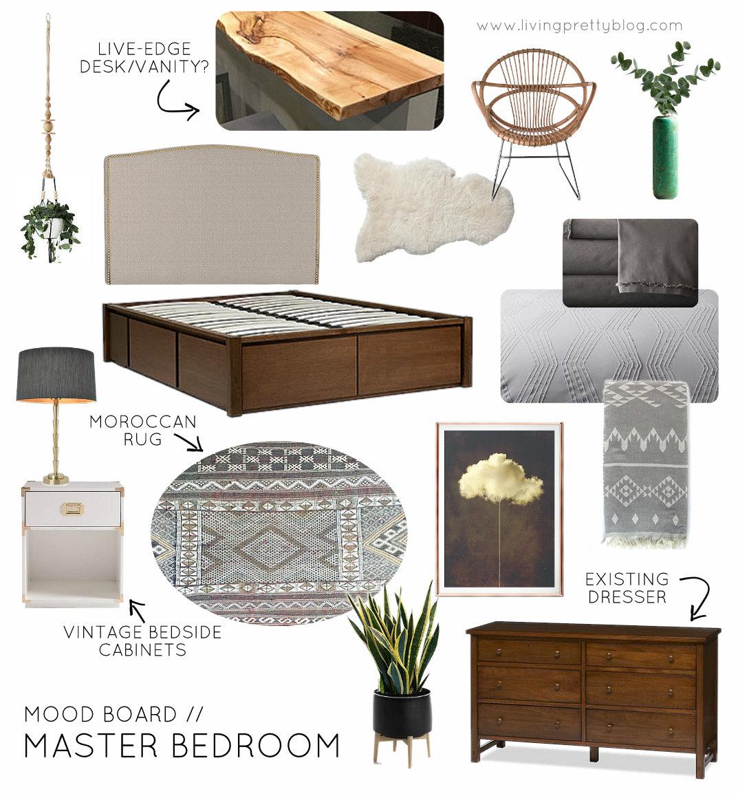 One Room Challenge Week 1 Master Bedroom Plans Amp Befores