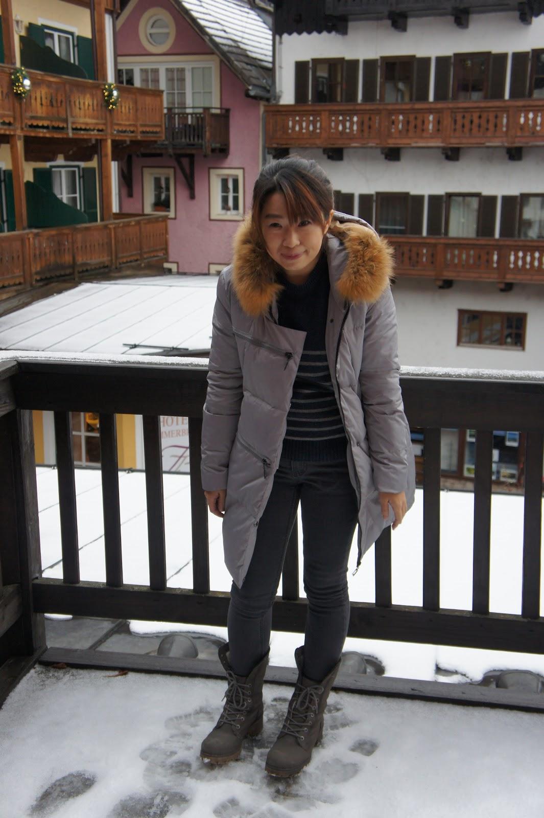 12月奧捷旅遊低溫0度穿搭分享 - 厚片人的保暖顯瘦穿著 | 歐洲冬天穿搭