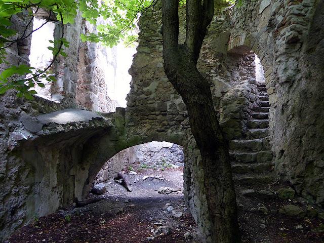Les ruines du Rauhenstein à Baden / photo S. Mazars