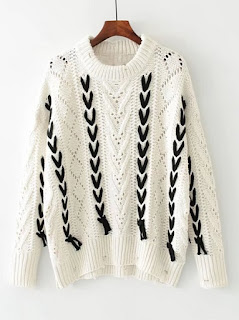 http://fr.shein.com/Contrast-Lace-Up-Hollow-Out-Ripped-Sweater-p-385673-cat-1734.html?utm_source=melimelook.fr&utm_medium=blogger&url_from=melimelook