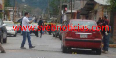 Balacera en Rio Blanco deja dos ejecutados este Viernes