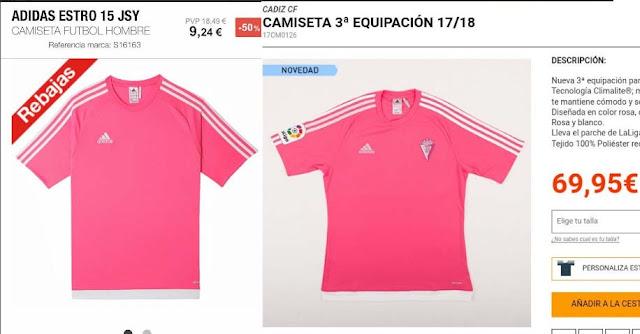 El negocio del fútbol  60 euros más por camiseta tras ponerle un ... 25a6ea6daa104