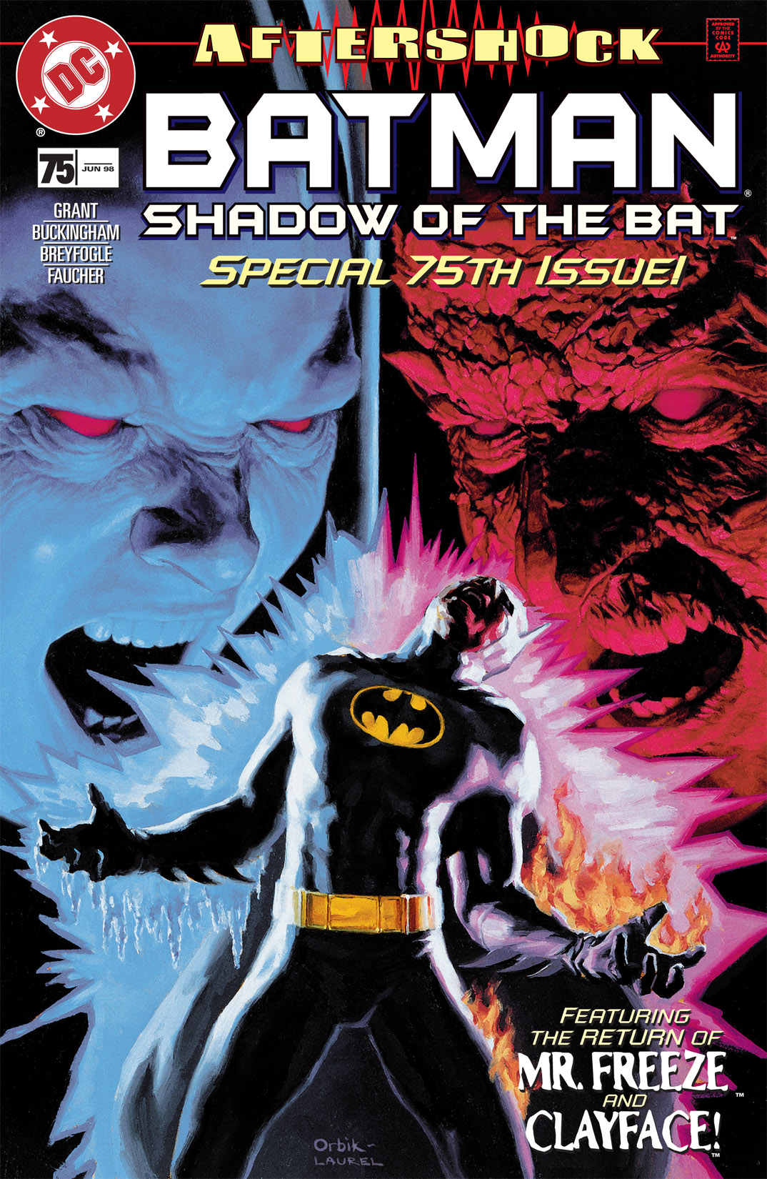 Batman: Shadow of the Bat 75 Page 1