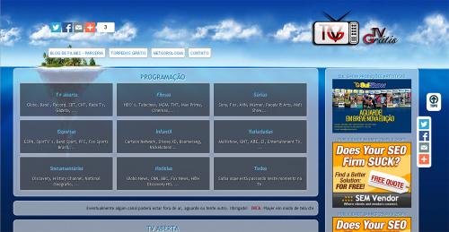 TGV - Tv grátis ao vivo