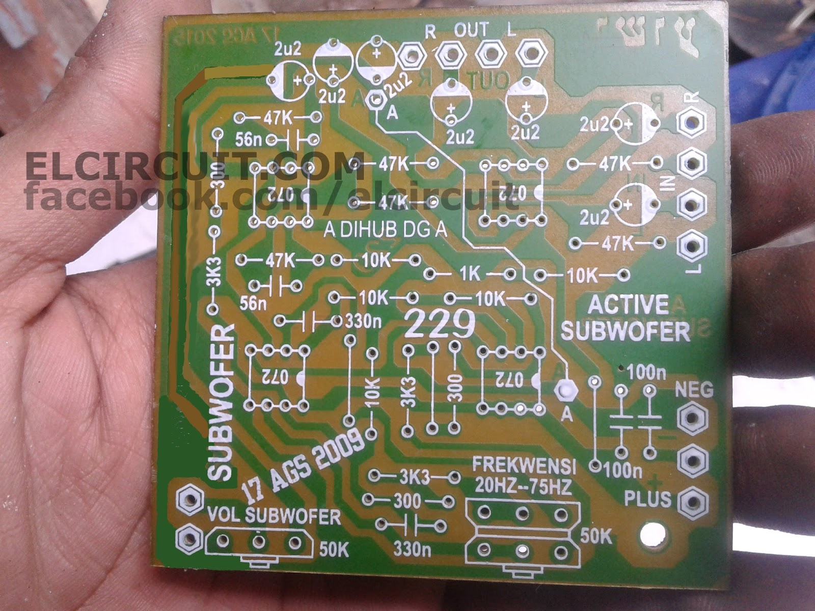Subwoofer Filter Circuit Board Amplifiercircuitscom T Boards Crossover Ahmedyerli Of And Pcb Layout Active