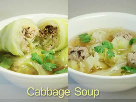 lose weight with cabbage soup diet