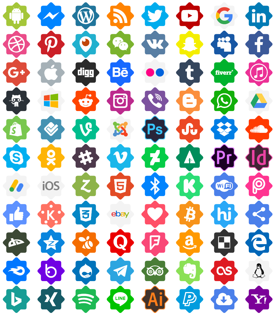 Download Font Icons Color ttf otf 108 icons