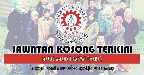 Jawatan Kosong 2018 di Majlis Amanah Rakyat (MARA)