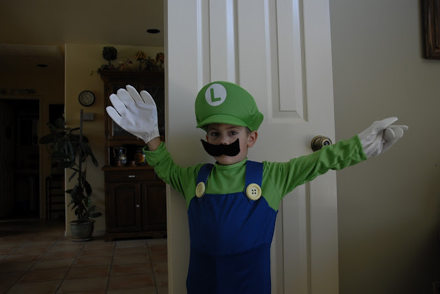 Super Mario Costume for my grandson: LadyD Books