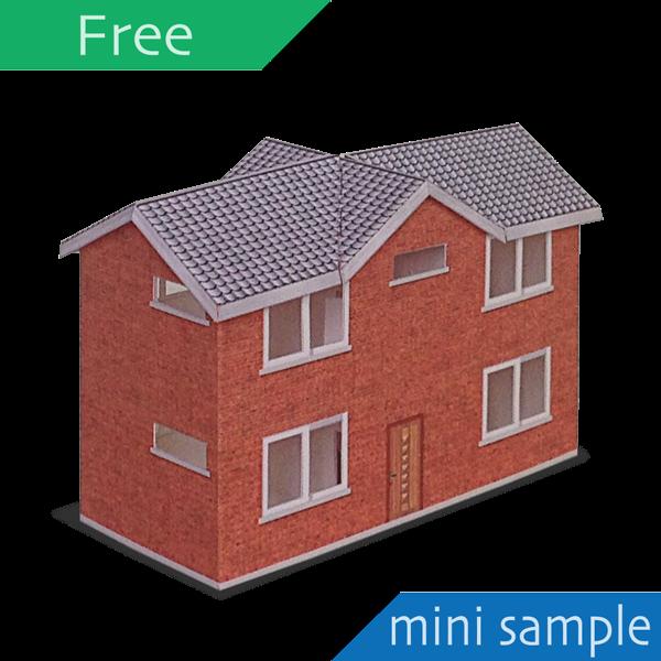 papercraft;建築;紙模型;landscape