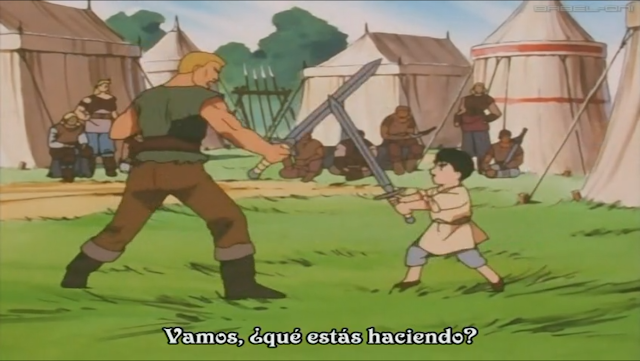 Berserk, Edad Dorada, anime 1997, Guts, Gambino