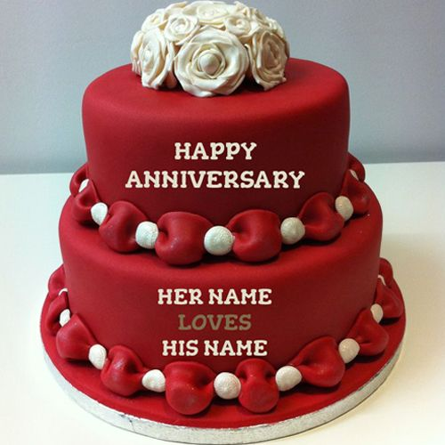anniversary cake ideas for parents