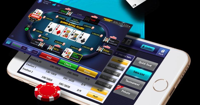 Cara Mudah Bermain Game PokerV Melalui HP Anda ~ MEJAKUQQ