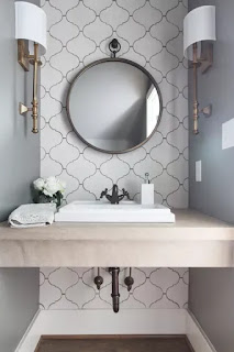 Pretty Powder Rooms