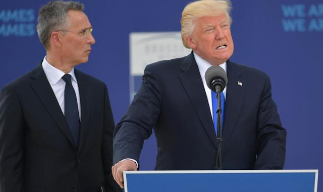 U.S. ambassador to Estonia resigns over Trump comments ahead of tense NATO summit