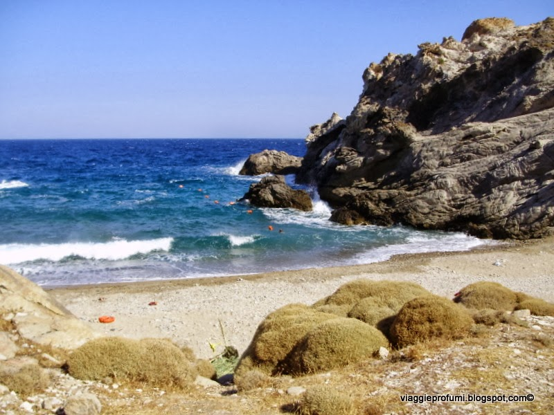 Spiaggia di Nas a Ikaria