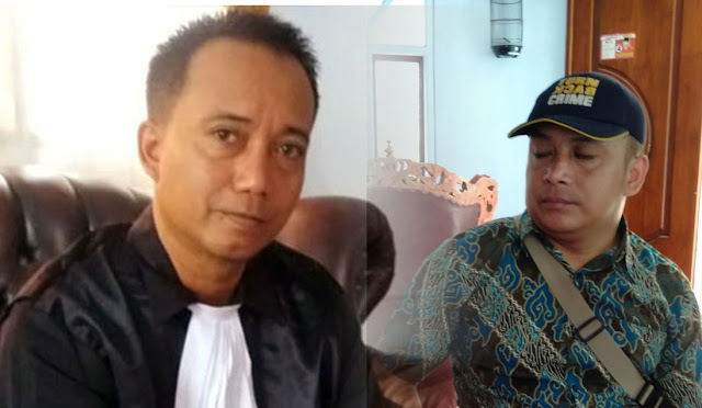 Advocat Dummy Hidayat dan Sekretaris Gema Yoni K