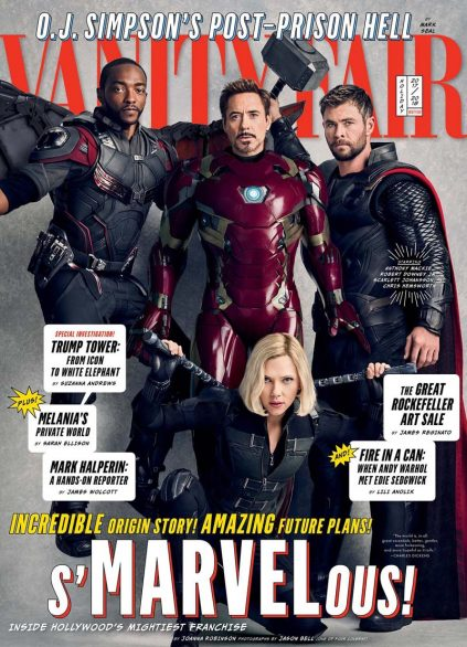 See The Avengers In Vanity Fair's Exclusive Marvel Photo