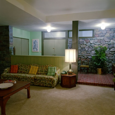 Brady Bunch Living Room