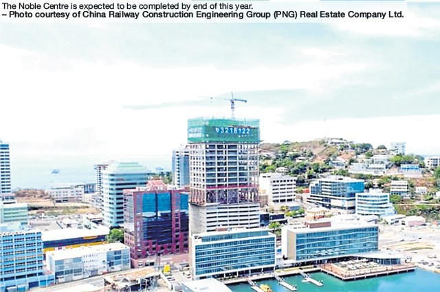 Tallest Building in PNG, the Noble Centre to be completed by December