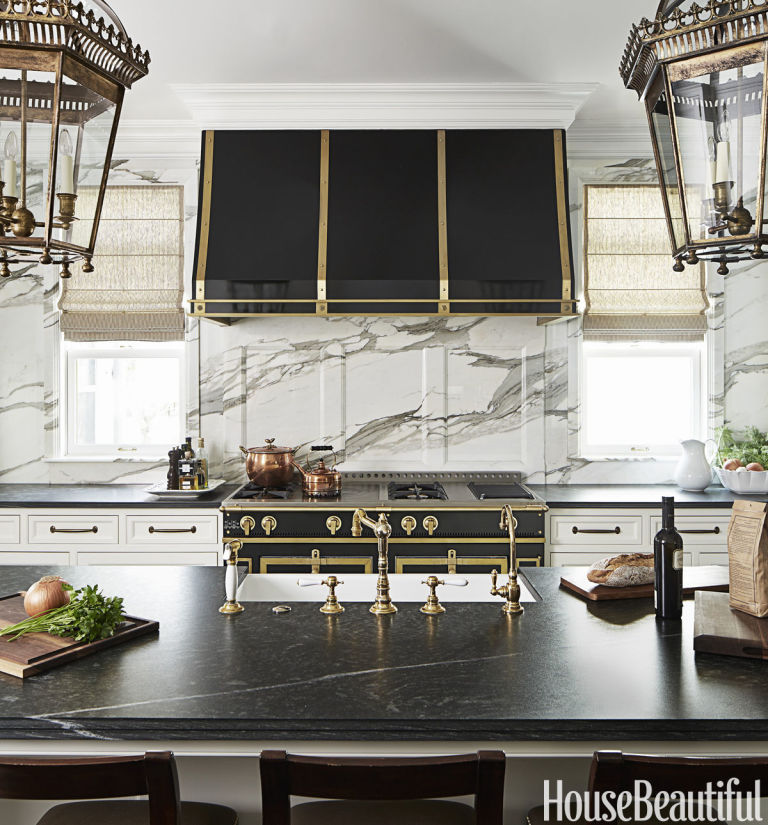 21 Best Counter Across Low Window Images On Pinterest: Kitchens With Black Stoves And Ranges