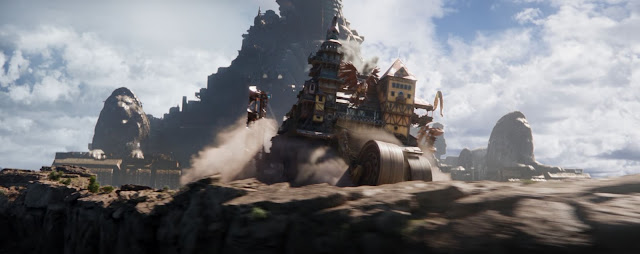 mortal engines cities chase