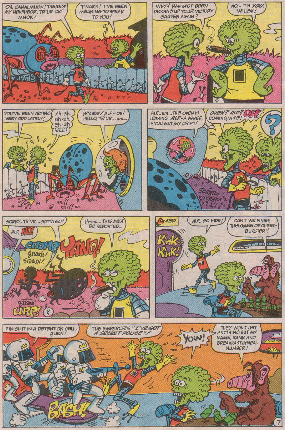 Read online ALF comic -  Issue #36 - 11