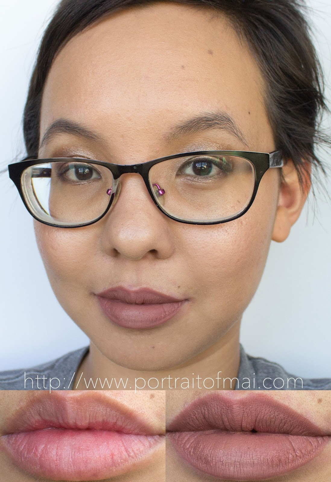 Smashbox Always On Liquid Lipstick in Stepping Out Swatch and Review
