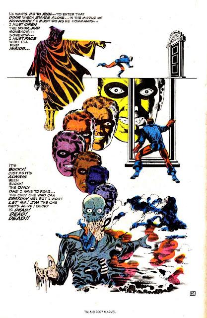 Captain America v1 #111 marvel comic book page art by Jim Steranko