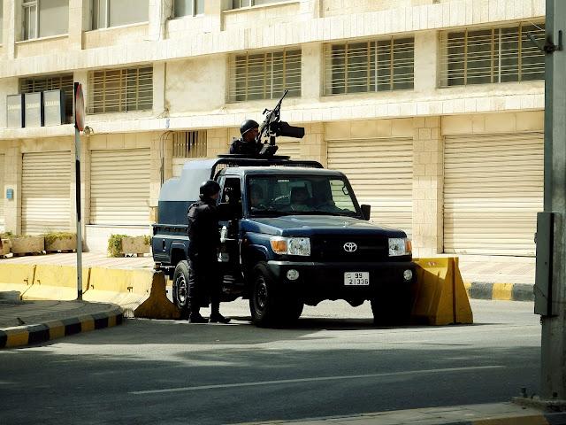 seguridad jordania
