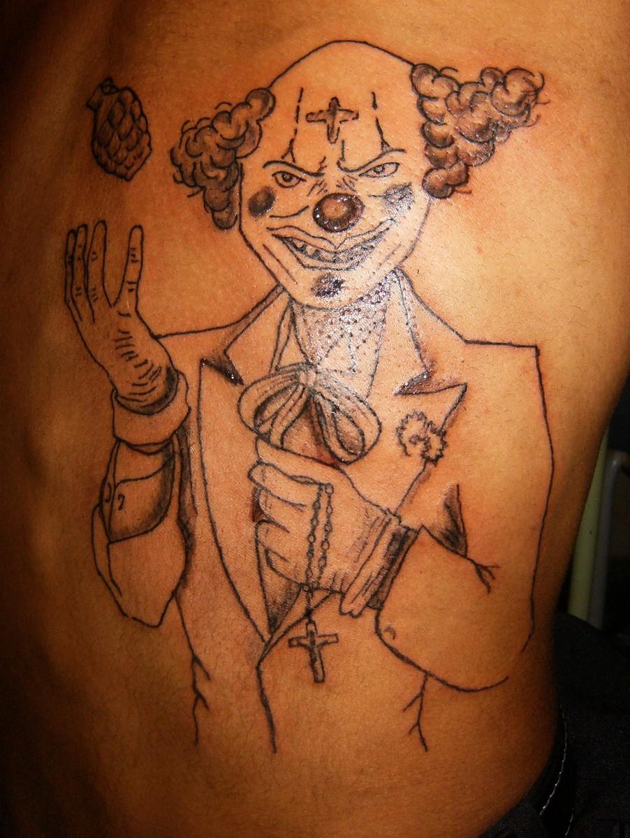 Desenho Palhaço Tatuagem dicas vz downs::.: tattoo palhaço matador 121 assacino