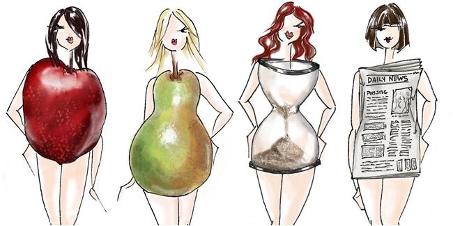 Cara memilih busana sesuai bentuk tubuh