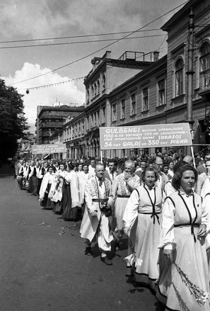 Dziesmu svētki 1960. gadā.
