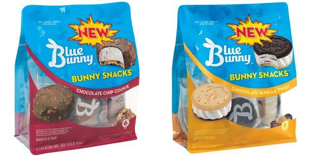 Blue Bunny Introduces New Snacks Plus Several Ice Cream Flavors