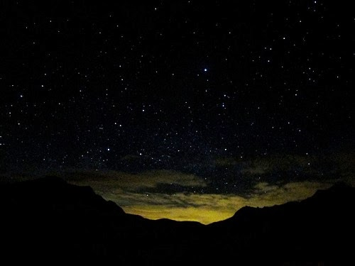 Funny Sherlock Holmes Watson camping tent starry night sky joke picture