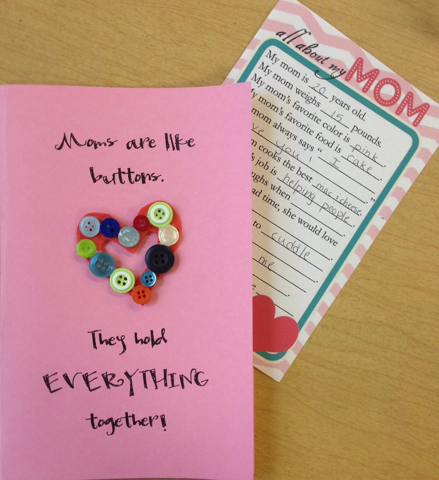 Mrs. Goff's Pre-K Tales: Simple And Cute Mother's Day Gift