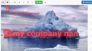 Cara Menghapus Watermark Gambar Online2
