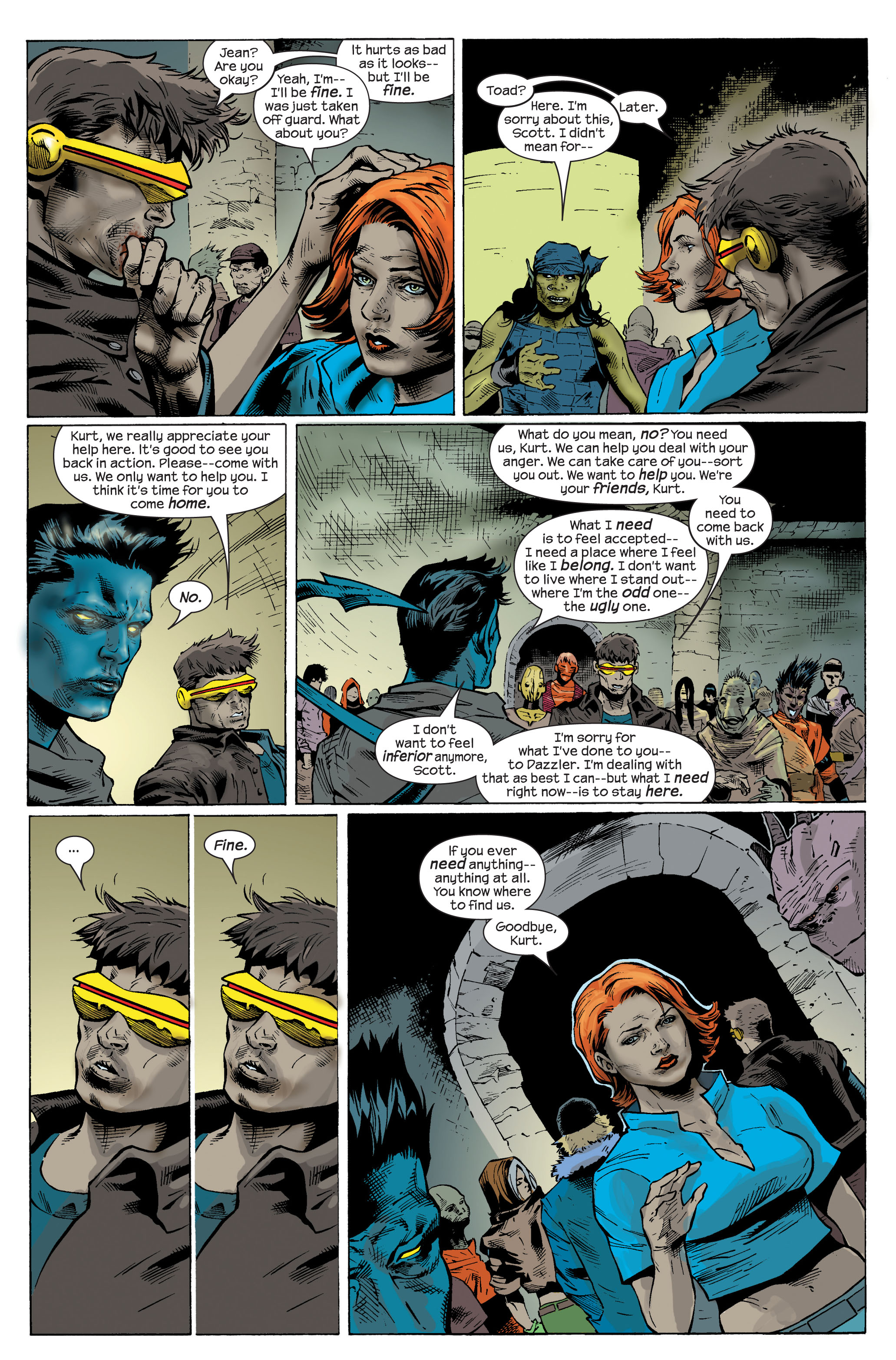 Read online Ultimate X-Men comic -  Issue #83 - 16