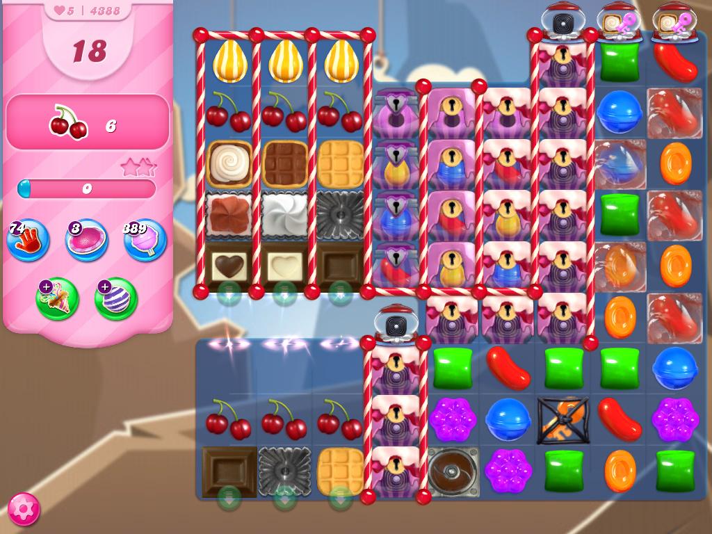 Candy Crush Saga level 4388