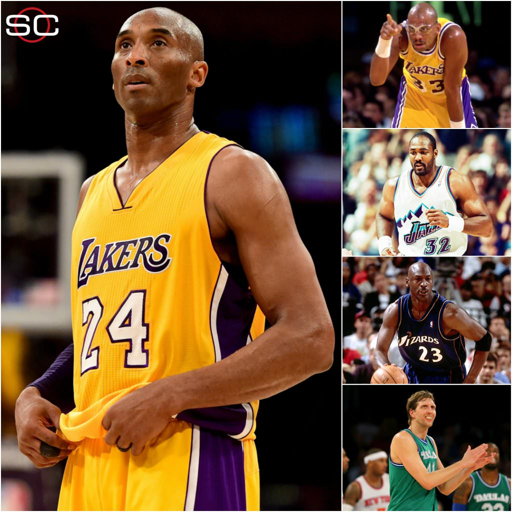 Kobe Bryant last NBA game - Old Shooters