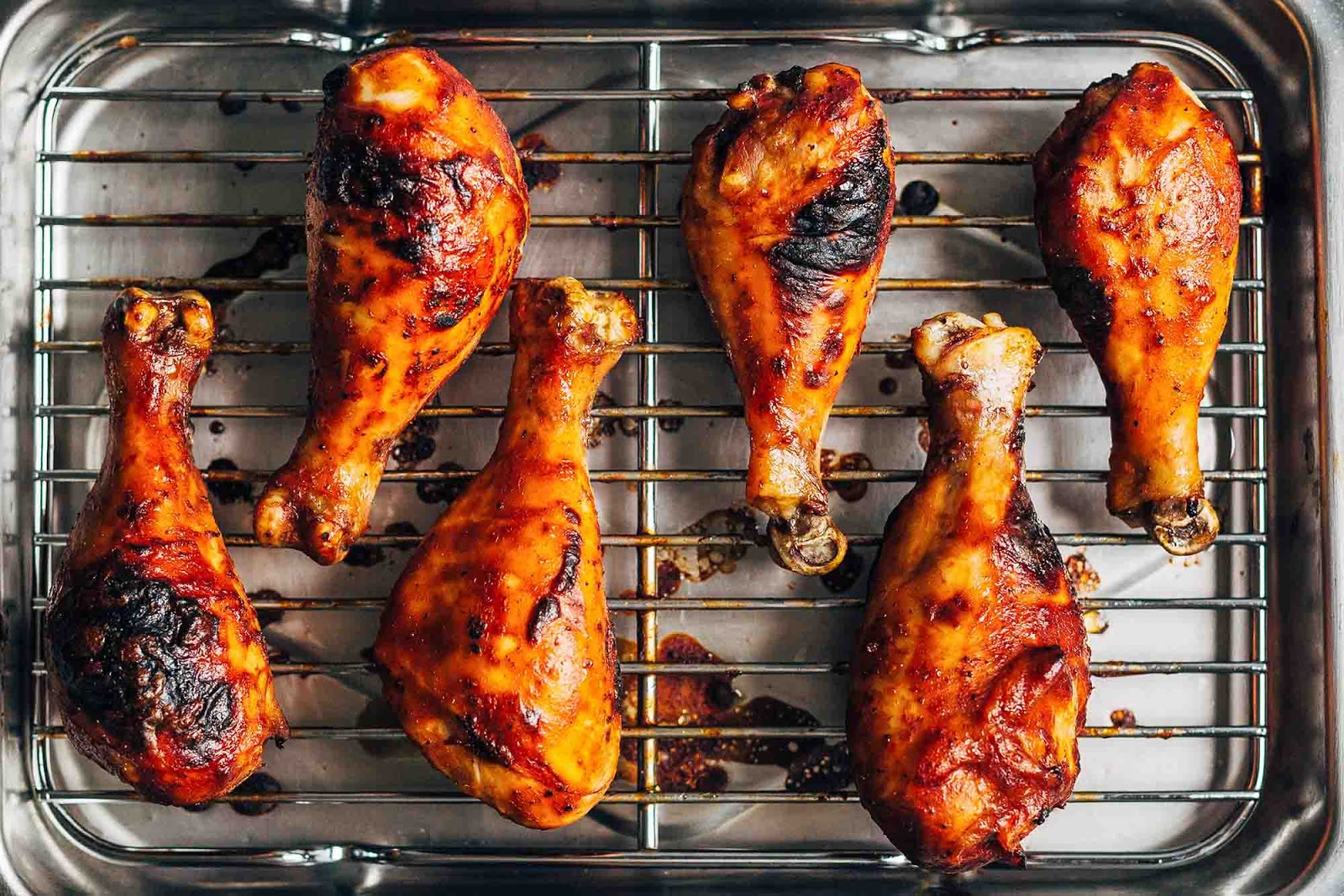 How Long To Bake Cook BBQ Steak Chicken Legs , Wings, Breast In Oven?