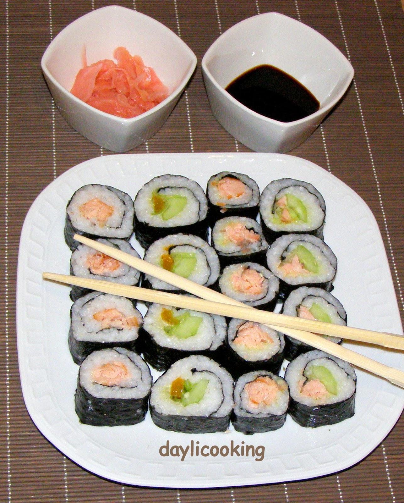 sushi moje pierwsze w asnor cznie zrobione. Black Bedroom Furniture Sets. Home Design Ideas