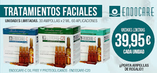 Endocare C y C-20 ampollas antiedad efecto global