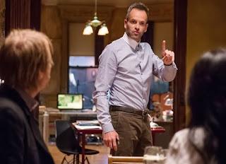 Jonny Lee Miller as Sherlock Holmes in CBS Elementary Season 2 Episode 7 The Marchioness