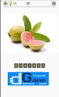 Soluzioni Frutti, verdure e noce livello 35