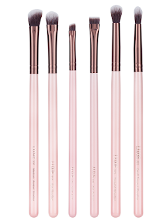 Birthday Wishlist - Luxie Rose Gold Basic Eye Brush Set