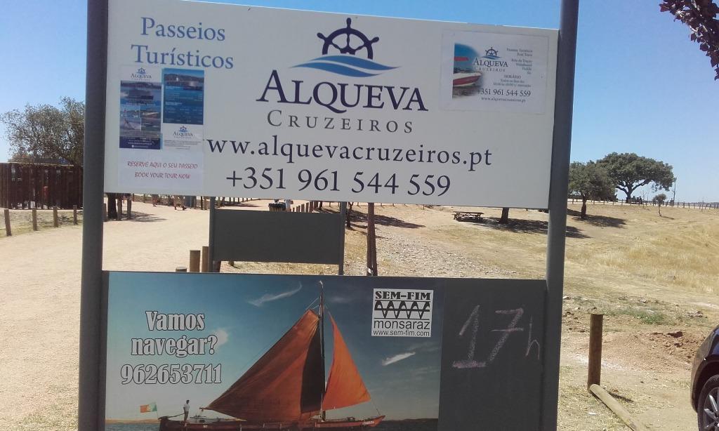 Cruzeiros no Alqueva