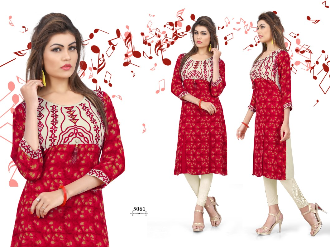 Popins – Latest New Collection Heavy Fancy Designer Kurti